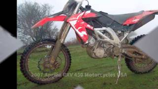 8. 2007 Aprilia RXV 450 Motorcycles USA
