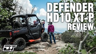 2. Full Review of the 2019 Can-Am Defender HD10 XT-P