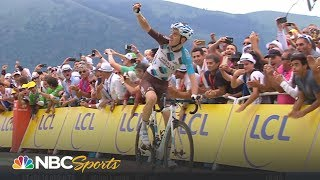 In Stage 12 of the Tour de France, Fabio Aru clinches the yellow jersey, putting in the only attack that Chris Froome couldn't respond to since 2013.