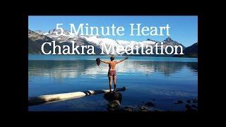 Meditation Monday: 5 Minute Heart Chakra Meditation