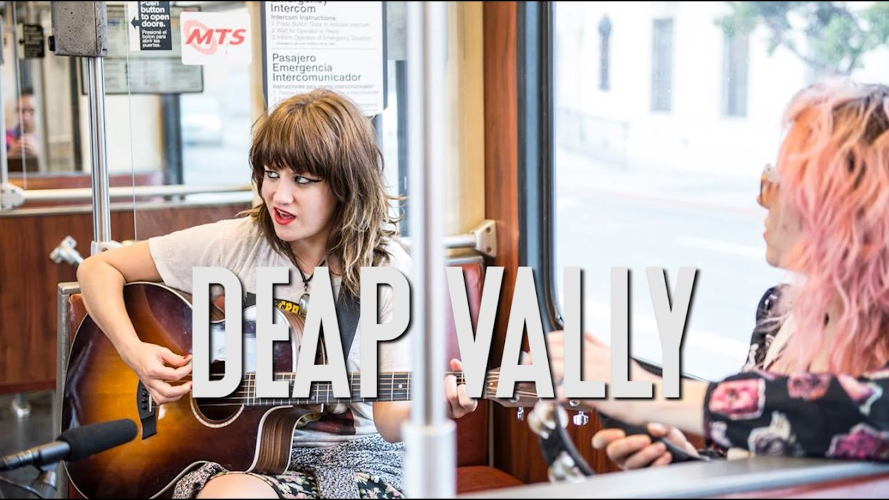 """Deap Vally """"Gonna Make My Own Money"""" - A Red Trolley Show (live performance)"""