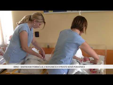 TV Brno 1: 11.1.2017 Babyboom pokračuje, v Bohunicích vyroste nová porodnice.