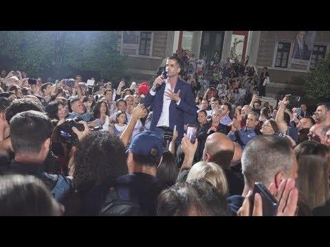 Πλάνα απο το εκλογικό κέντρο του Κ. Μπακογιάννη