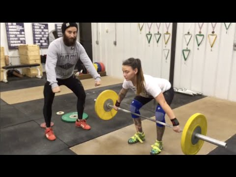 Out of Step Barbell Technique #1 - Snatch Start Position