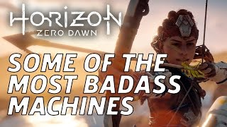 Some Of Horizon Zero Dawn's Most Badass Enemies by GameSpot