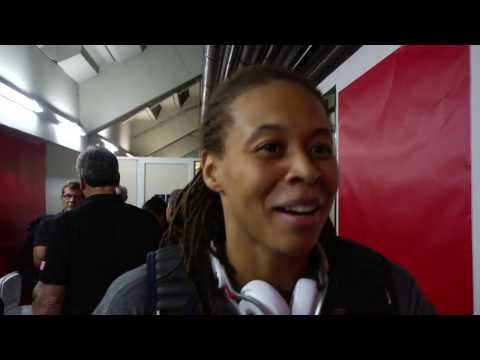 117 - Seimone Augustus talks about staying focused and how the team is meshing together and enjoying the experience. About USA Basketball Based in Colorado Springs, Colo., USA Basketball is a nonprofit...