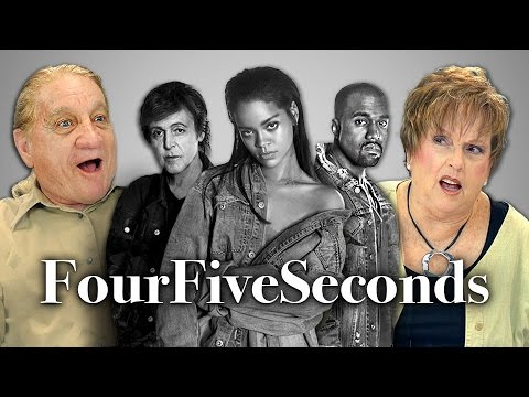 Elders React to Rihanna And Kanye West And Paul McCartney – FourFiveSeconds