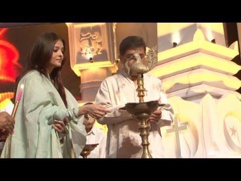 Aishwarya At A Musical Evening To Tribute Sri Sathya Sai Baba
