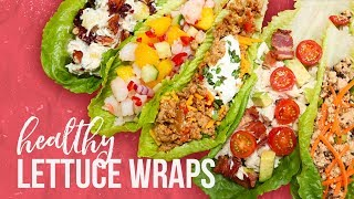 5 Healthy Lettuce Wraps | Back-To-School 2017 by The Domestic Geek