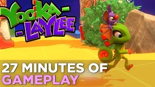 27 Minutes Of New YOOKA-LAYLEE Gameplay