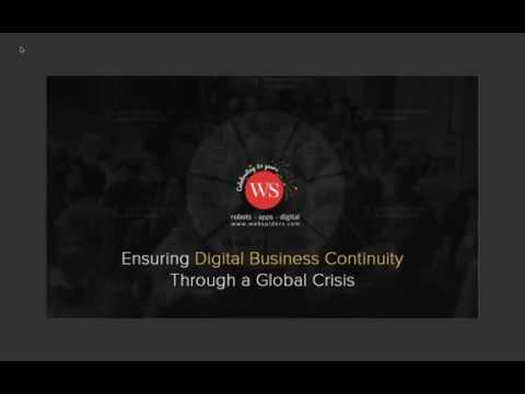 Webinar | Digital Business Continuity - 7 Spoke Model