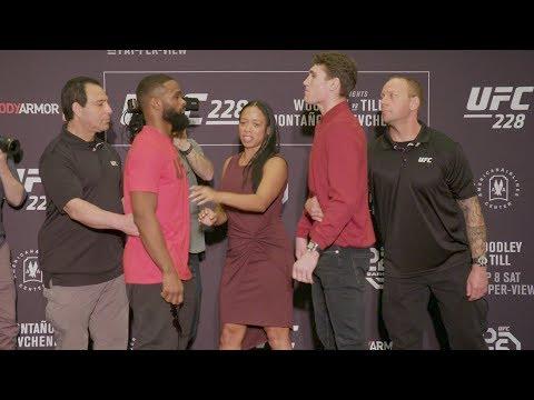 UFC 228: Media Day Faceoffs
