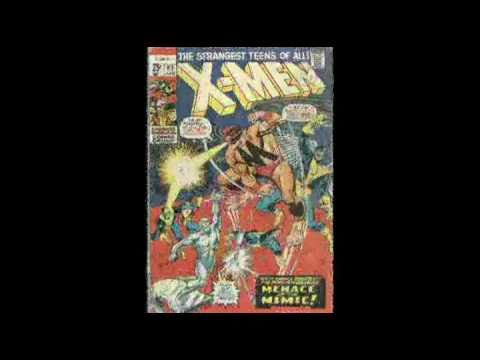 Comic Cover Gallery X - Men 001 - 100 (Music by Noiseevoluter)
