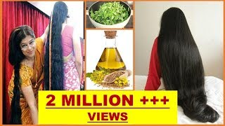 SUPER LONG and STRONG THICK Hair Growth. - Muskaan Hamad