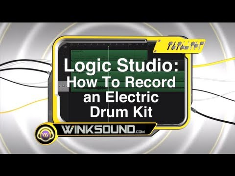 Logic Pro: How To Record an Electric Drum Kit | WinkSound