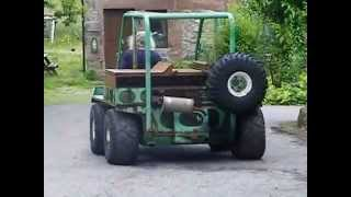 Unusual disabled access vehicle built by Scot Trac.