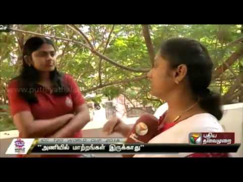 Womens-Cricketer-Saratha-Interview-about-INDvsWI-semifinal-clash