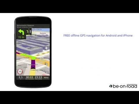 Video of GPS Navigation BE-ON-ROAD