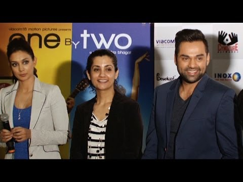 Merchandise Launch Of One By Two With Abhay Deol and Preeti Desai