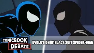 Evolution of Black Suit Spider-Man in Cartoons, Movies & TV in 4 Minutes (2018)