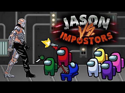 Among Us vs Uber Jason   Crewmate kill Impostor   Death Battle