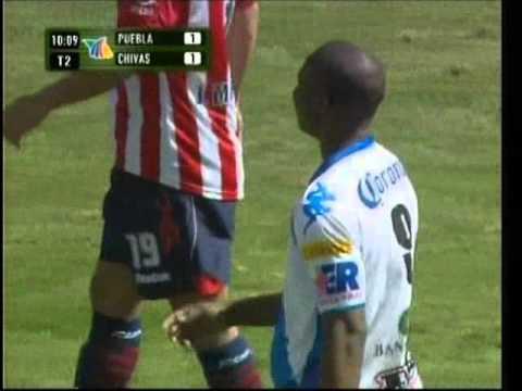 Primer partido de Borja con Puebla FC