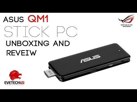 Asus QM1-C006 Stick PC Unboxing & Overview