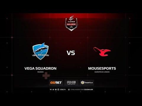 Vega Squadron vs mousesports, mirage, ELEAGUE Major Boston 2018