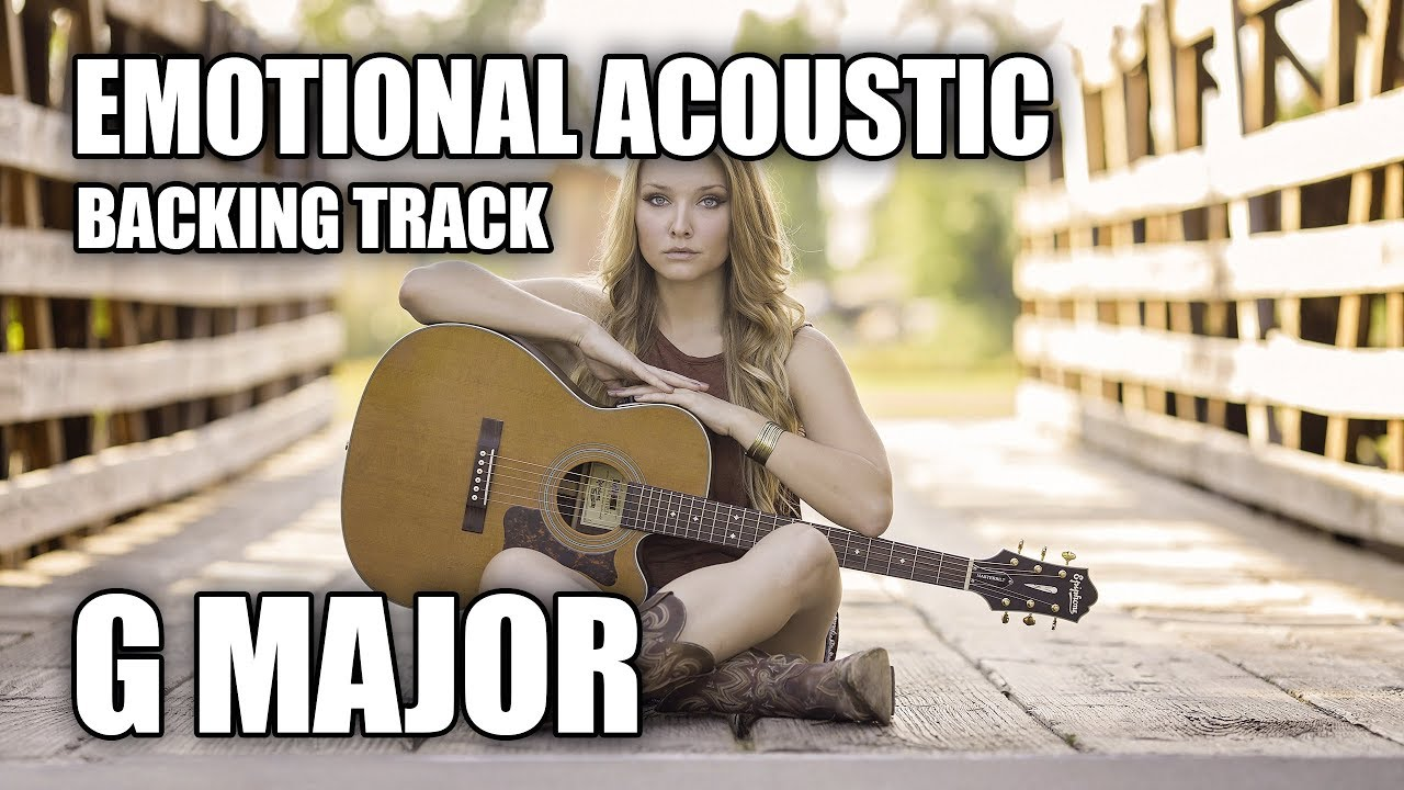 Emotional Nylon Acoustic Guitar Backing Track In G