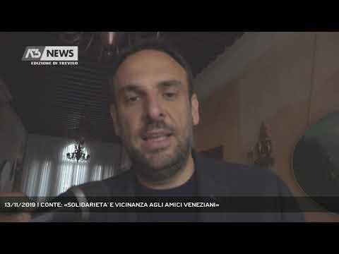 13/11/2019 | CONTE: «SOLIDARIETA' E VICINANZA AGLI AMICI VENEZIANI»
