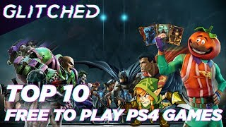 We discuss the top 10 free games on the PS4 right now