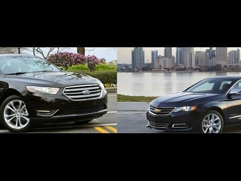 2014 Chevy Impala vs. Ford Taurus: By The Numbers