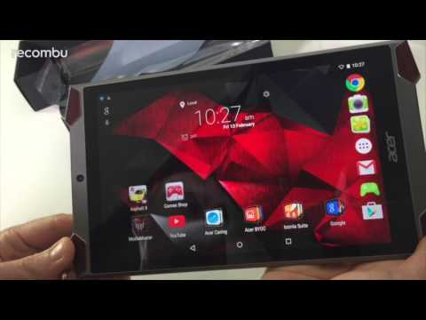 Acer Predator Tablet unboxing and first look