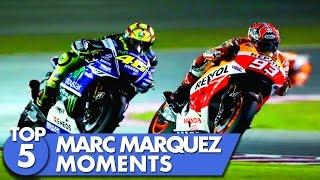Video Top 5 Marc Marquez Moments MP3, 3GP, MP4, WEBM, AVI, FLV November 2017