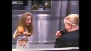 Extremely Scary Elevator Prank In Brazil 593031 YouTubeMix