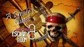 A Pirate's Quest - Rockville Escape Room