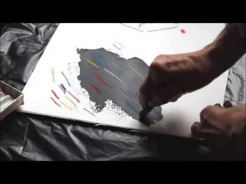 Arts - Visual Arts Tutorial Number Twelve All Ages. This deals with how a color changes on a black background from that on a white background. All content mine. © M...