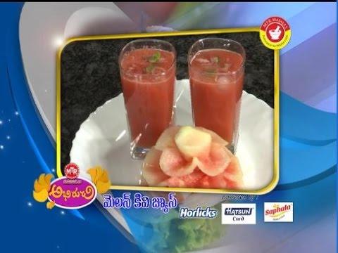 Abhiruchi--Melon-kiwi-Juice--మెలన్-కివి-జ్యూస్