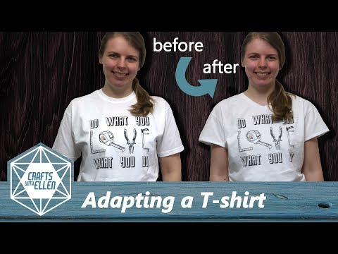 How to adapt the fit of a T-shirt | Sewing Tutorial