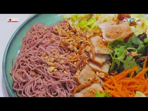 Bún gạo lức trộn rau thơm món ăn thực dưỡng tốt cho sức khỏe | Khi Chàng Vào Bếp - Mùa 2 - Thời lượng: 93 giây.