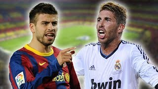 Gerard Pique V Sergio Ramos | The Story Of Why They Don't Get On