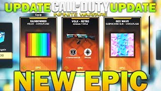New epic weapon: Volk Retro and new update In Infinite Warfare! Find out the latest information about the update and new ...