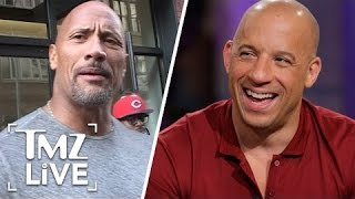 Nonton The Rock Vs. Vin Diesel: The Feud Is OVER | TMZ Live Film Subtitle Indonesia Streaming Movie Download