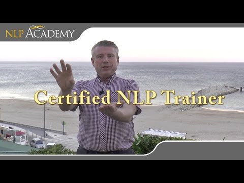 NLP Trainers Training with Dr. John Grinder