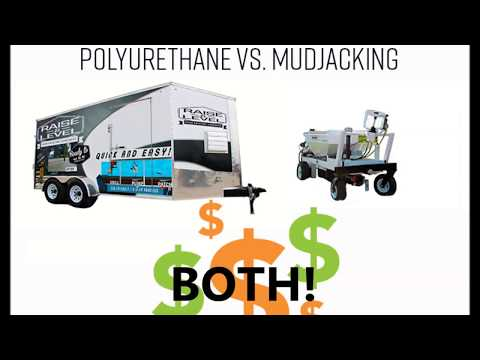 Mudjacking Vs. Polyurethane – What is the difference?