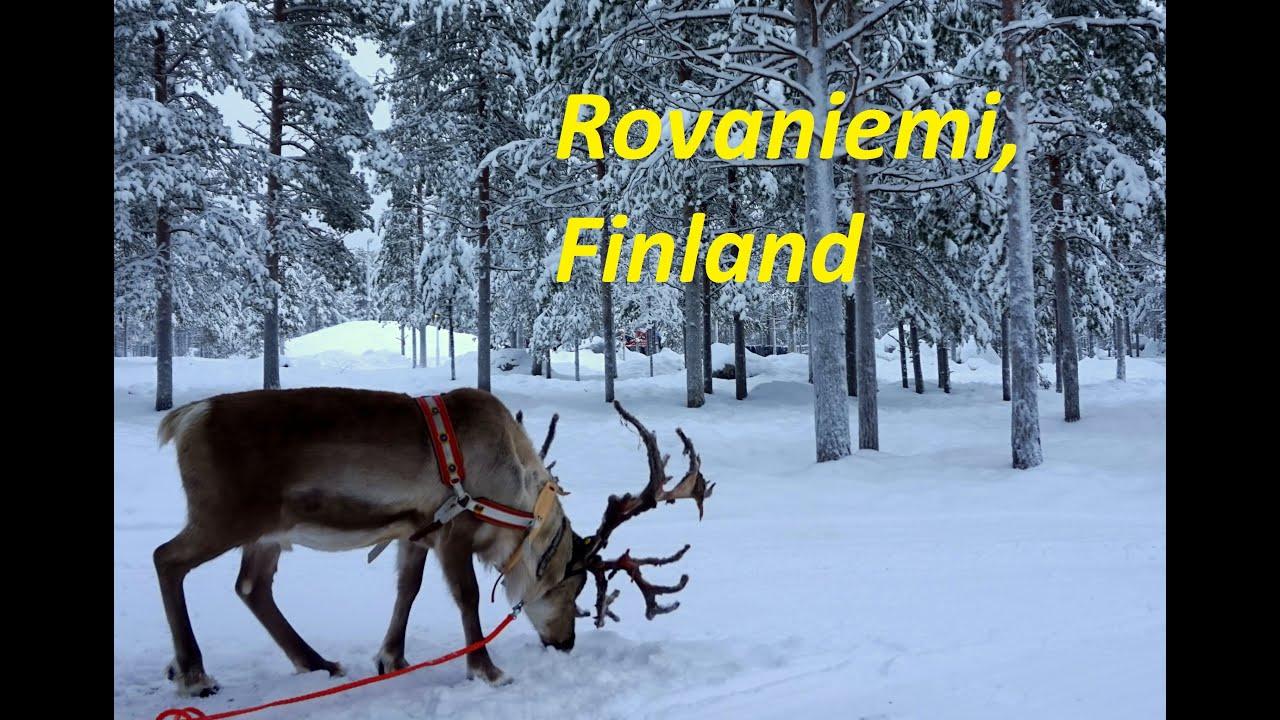 Adventures in Rovaniemi, Finland with Anna Everywhere