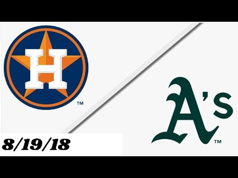 Houston Astros Vs Oakland Athletics | Justin Verlander 200th Win | Full Game Highlights