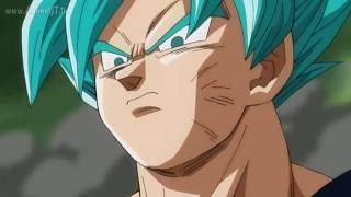 Goku se enoja por la muerte de Milk y Goten