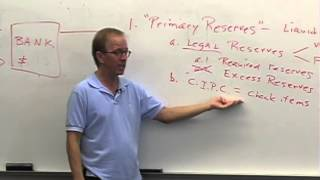 Money And Banking: Lecture 28 - The Business Of Banking 4