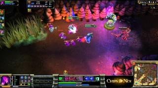 (HD040) PoV Morgana TOP ELO EU 5c5 - Part 1 - League Of Legends Replays [FR]
